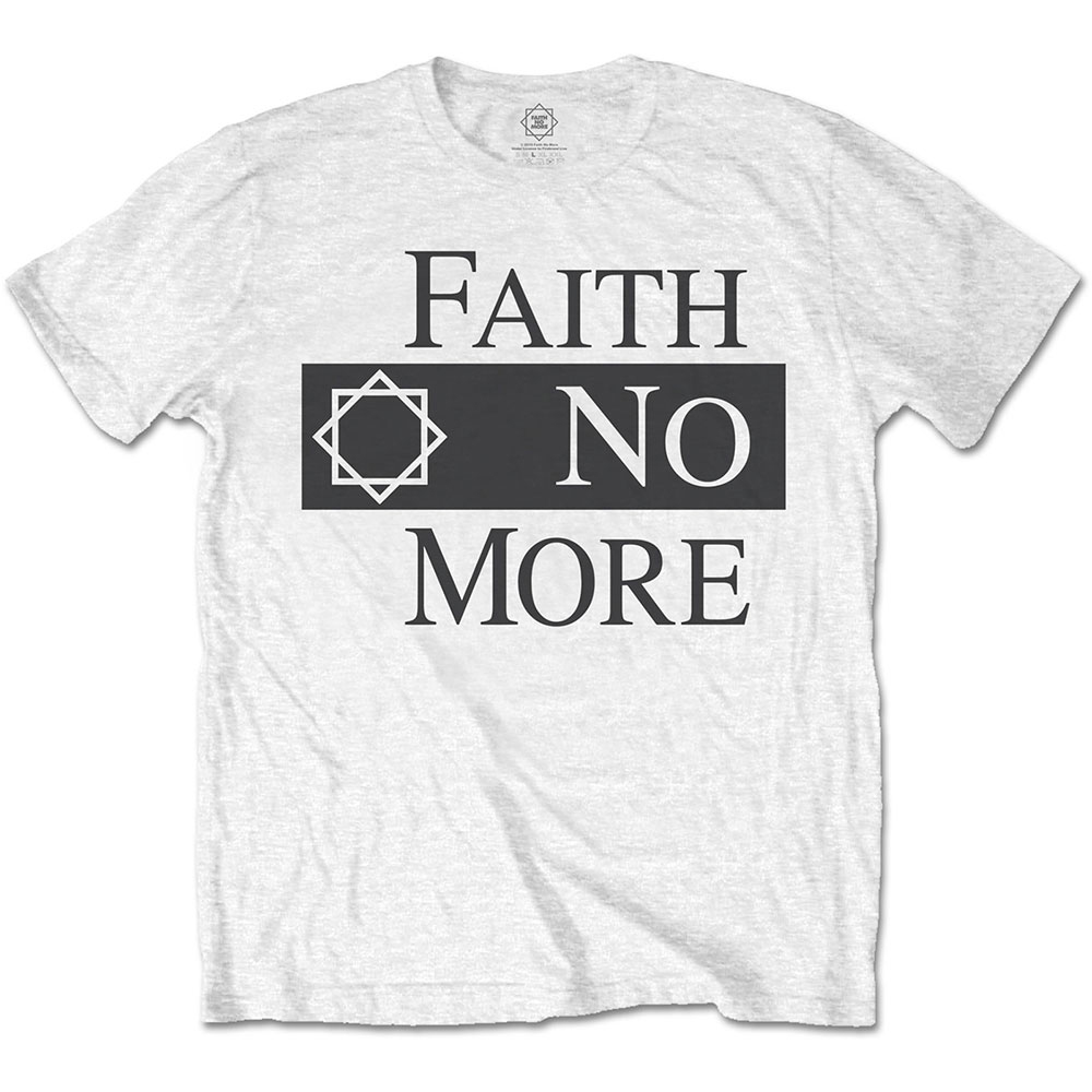 Faith No More - Classic Logo V.2. (White)