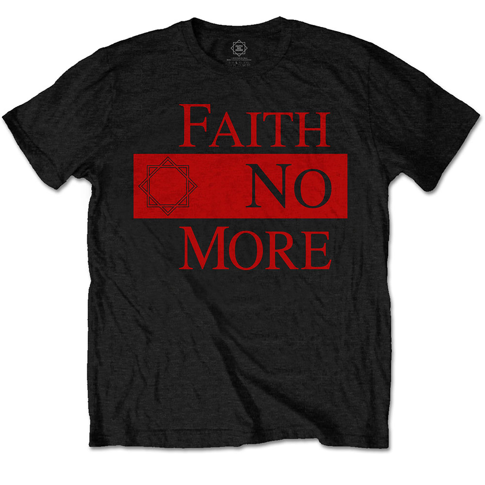 Faith No More - Classic New Logo Star