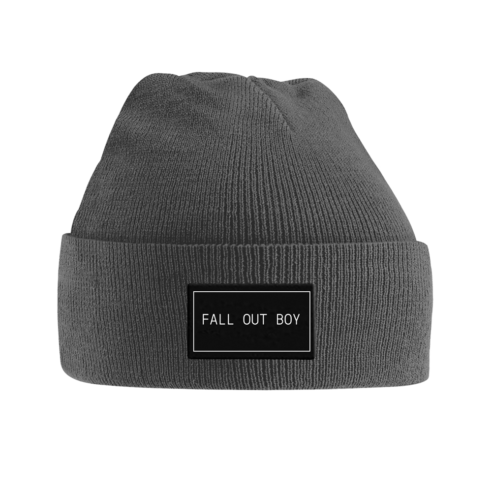 Fall Out Boy - Logo (Knitted Ski Hat)