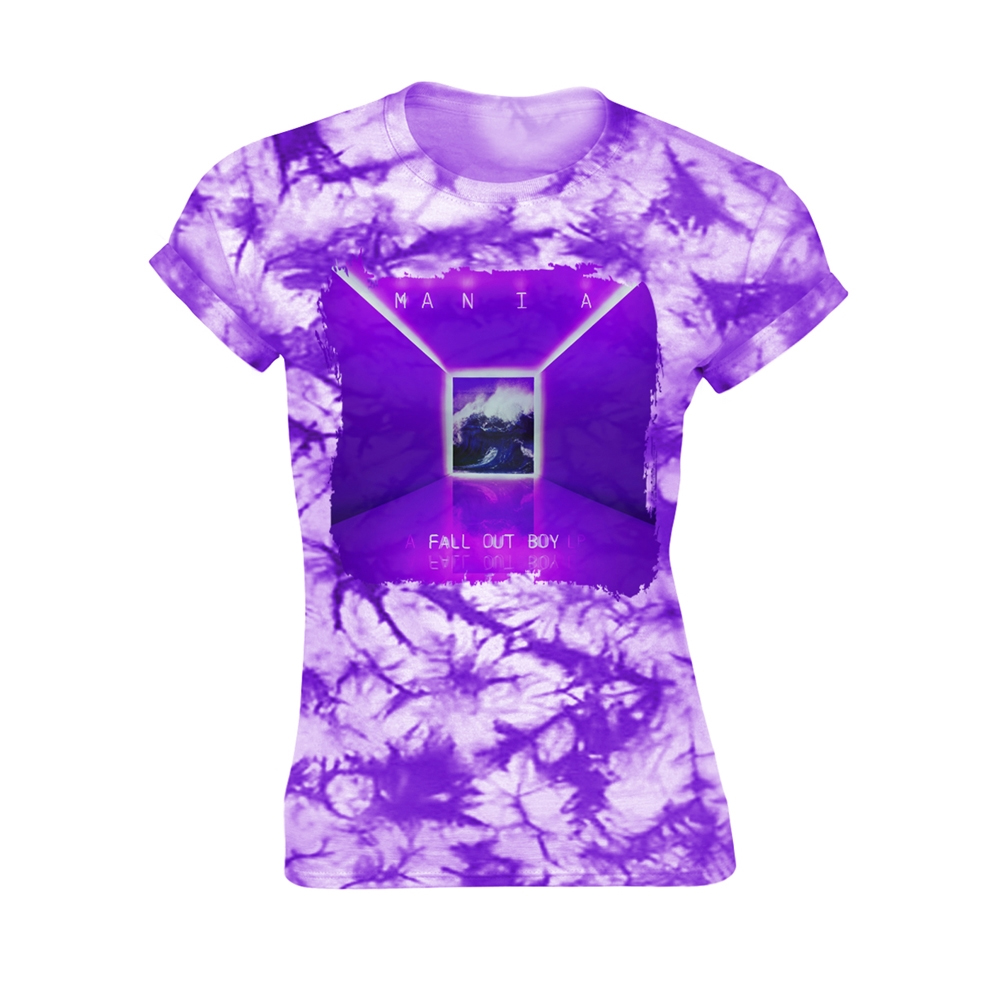 Fall Out Boy - Mania Tie-Dye (Ladies)