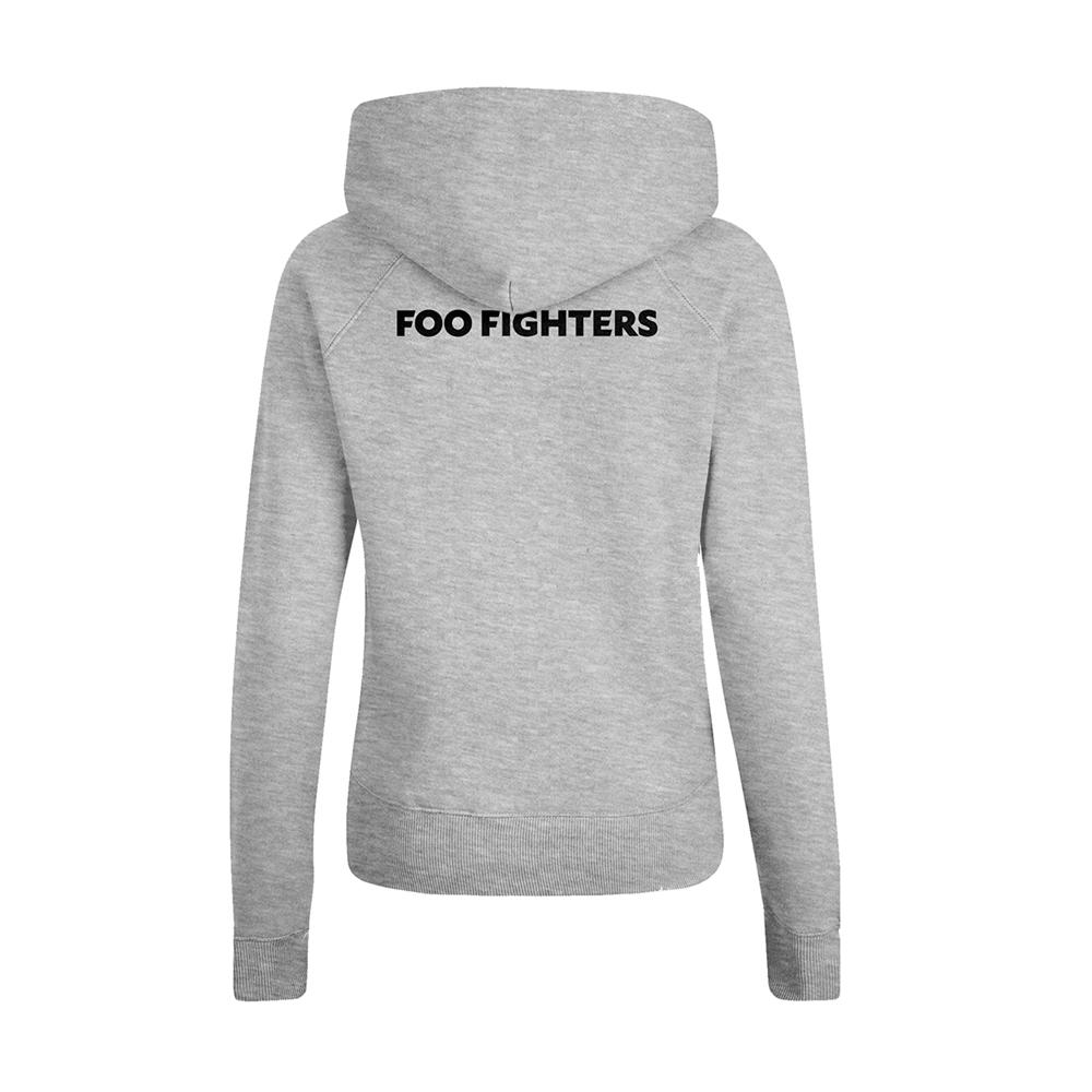 Foo Fighters 'Insignia Logo' Zip Up Hoodie