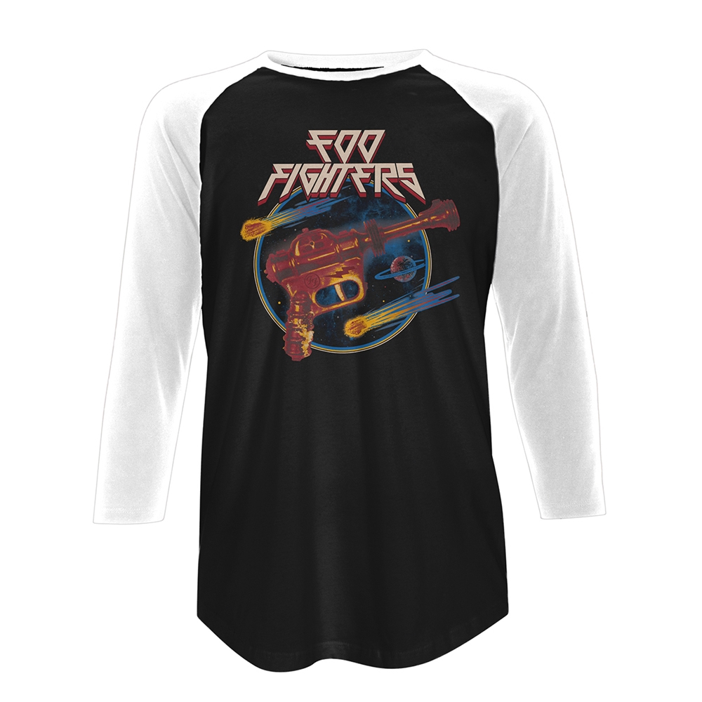 Foo Fighters - Ray Gun (Baseball Shirt)