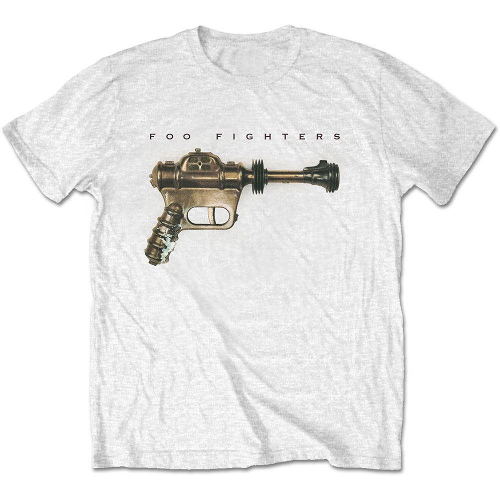 Foo Fighters - Ray Gun (White)
