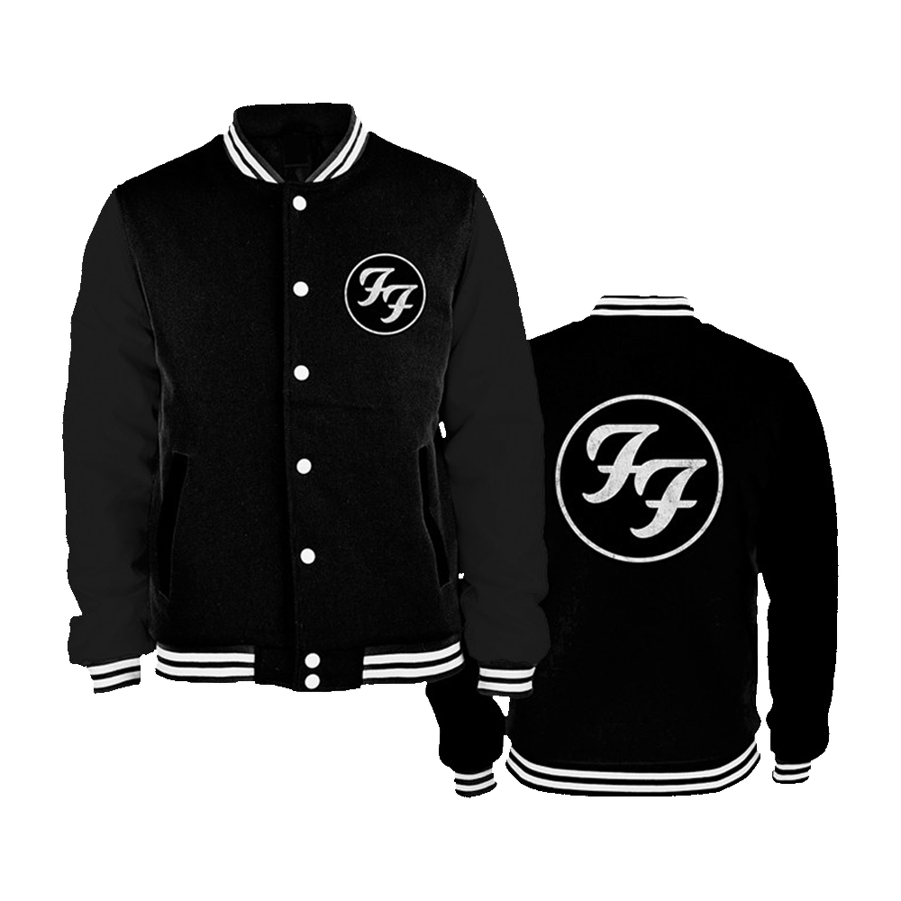 Foo Fighters - Initials (Varsity Jacket)