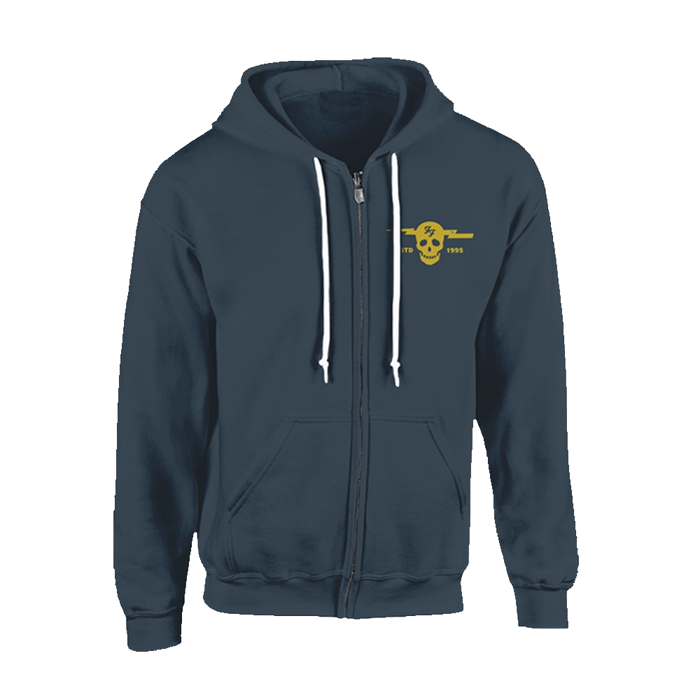 Foo Fighters - Insignia Logo (Zipped Hoodie)