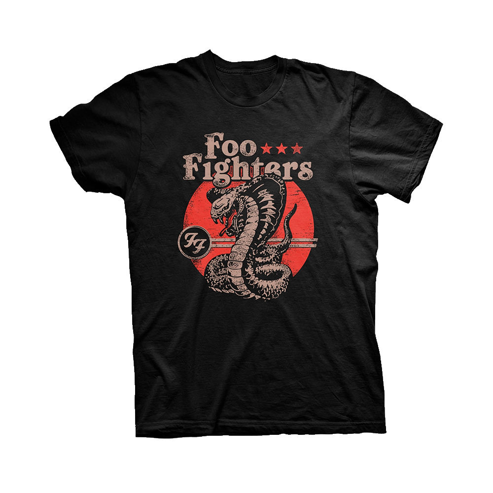Foo Fighters - Snake (Black)