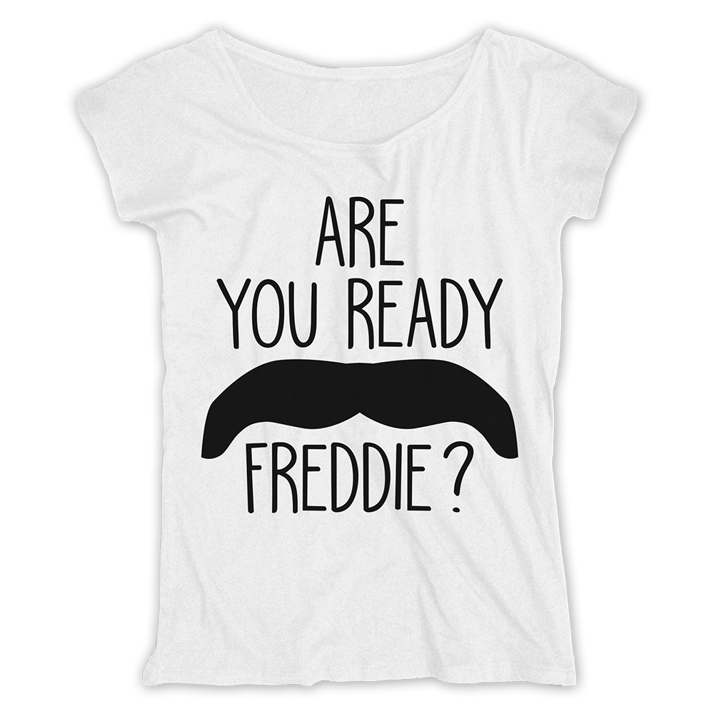Freddie Mercury - Are You Ready Freddie (Ladies)