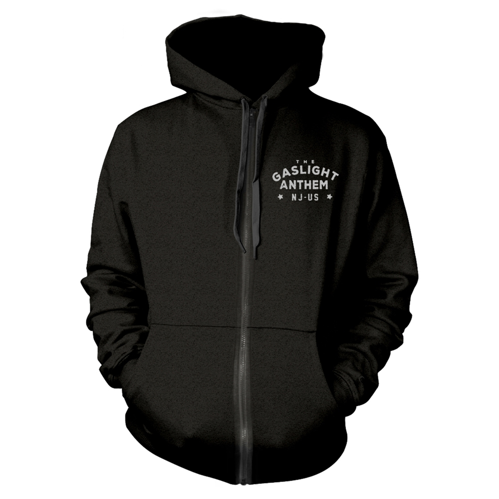 The Gaslight Anthem - Boxing Gloves (Zip Hoodie)