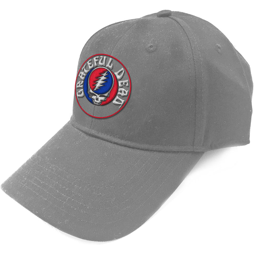 Grateful Dead - Steal Your Face Logo Grey