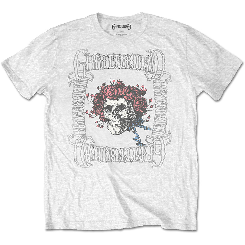 Grateful Dead - Bertha with Logo Box White