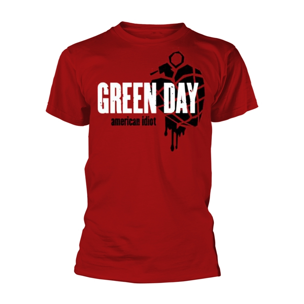 Green Day - American Idiot Heart - Red