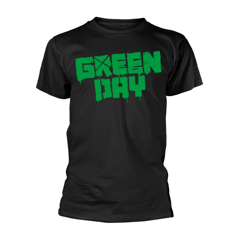 Green Day - Logo - 21st Century Breakdown (Black)