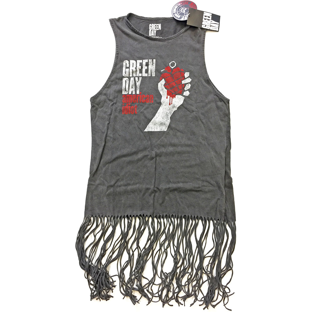 Green Day - American Idiot Vintage Tassel Dress