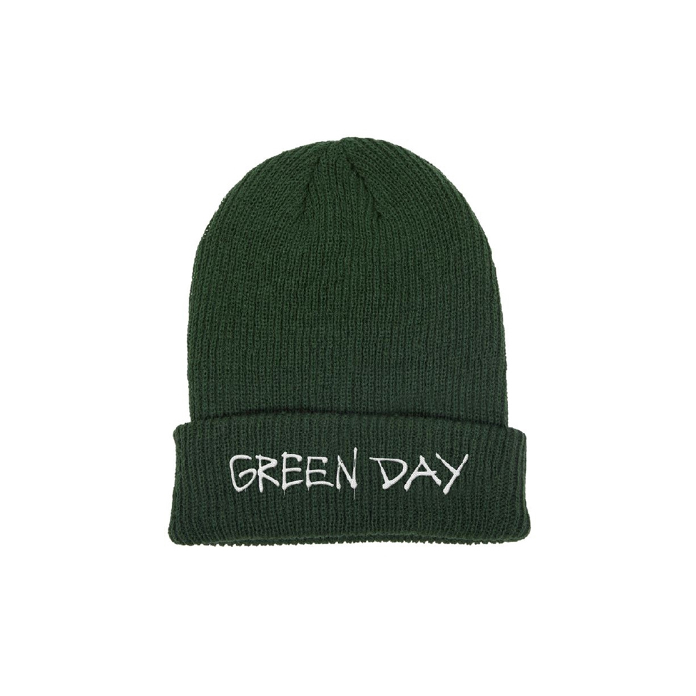 Green Day - Label Flip Beanie