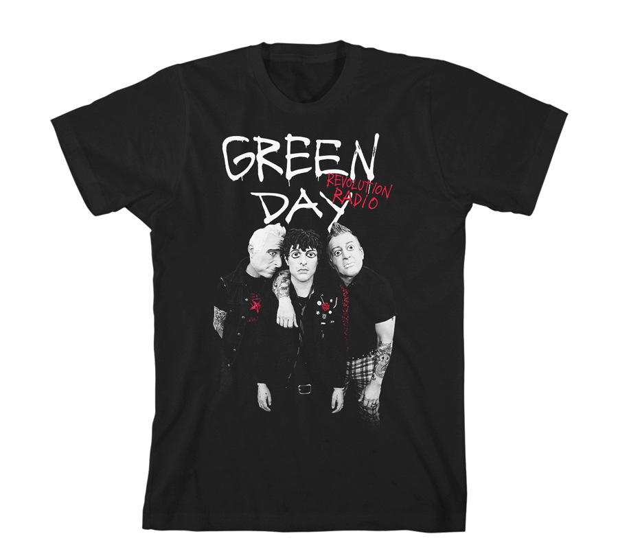 Green Day - Red Hot (Black)