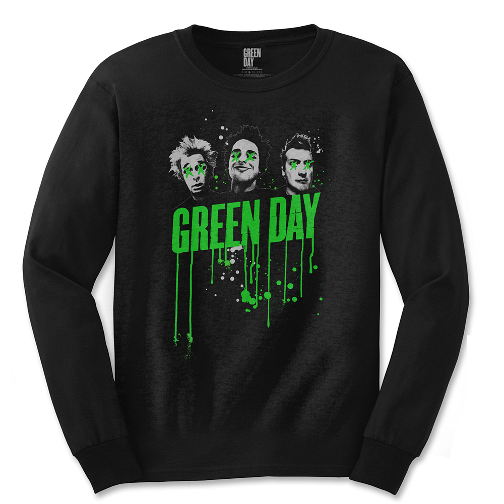 Green Day - Drips (Black)