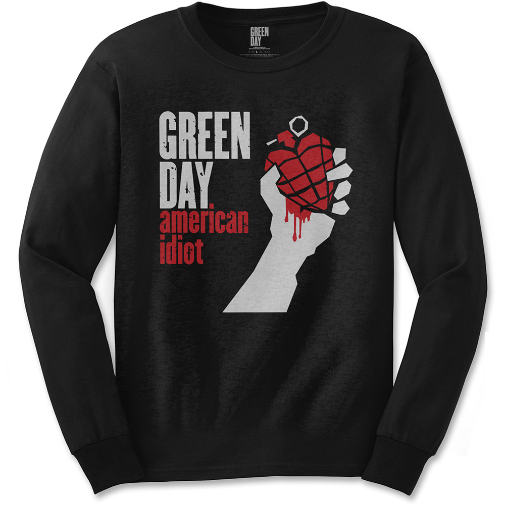 Green Day - American Idiot (Black)