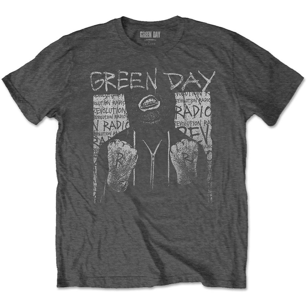 Green Day - Ski Mask (Grey)