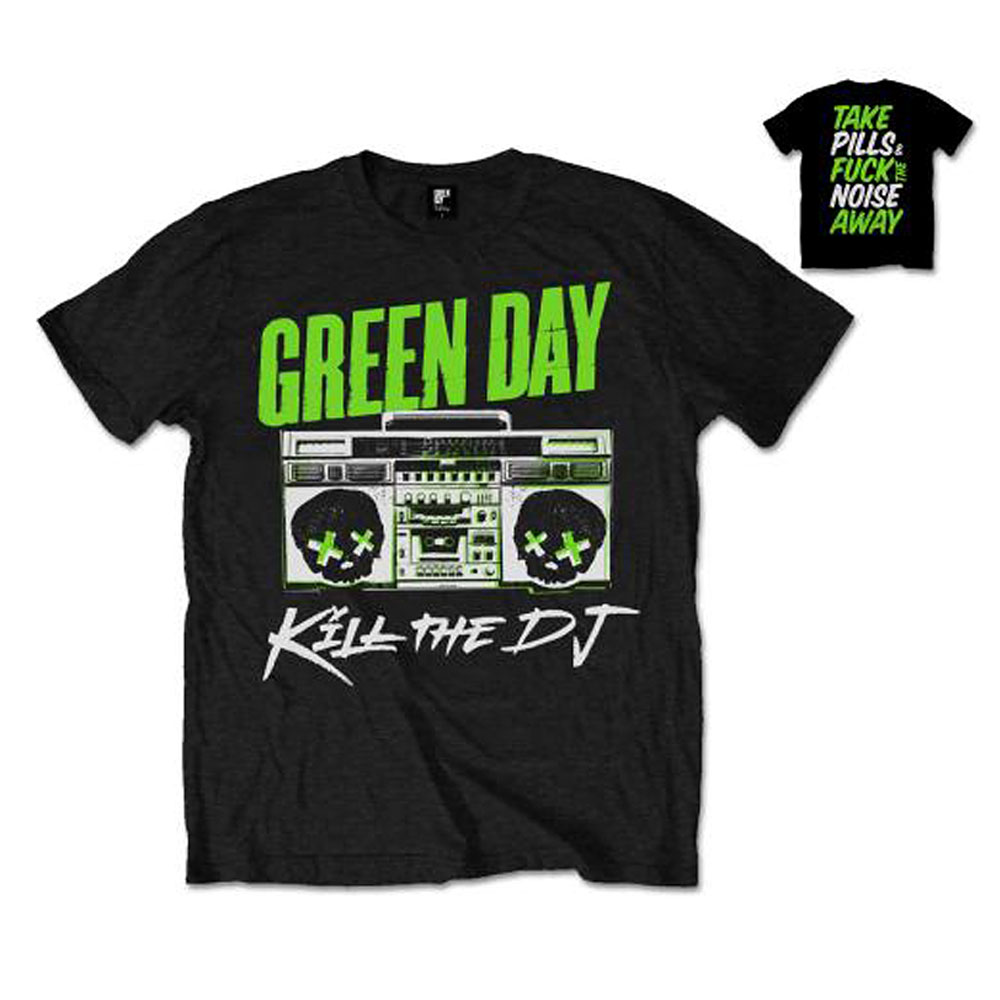 Green Day - Kill the DJ (Back Print)