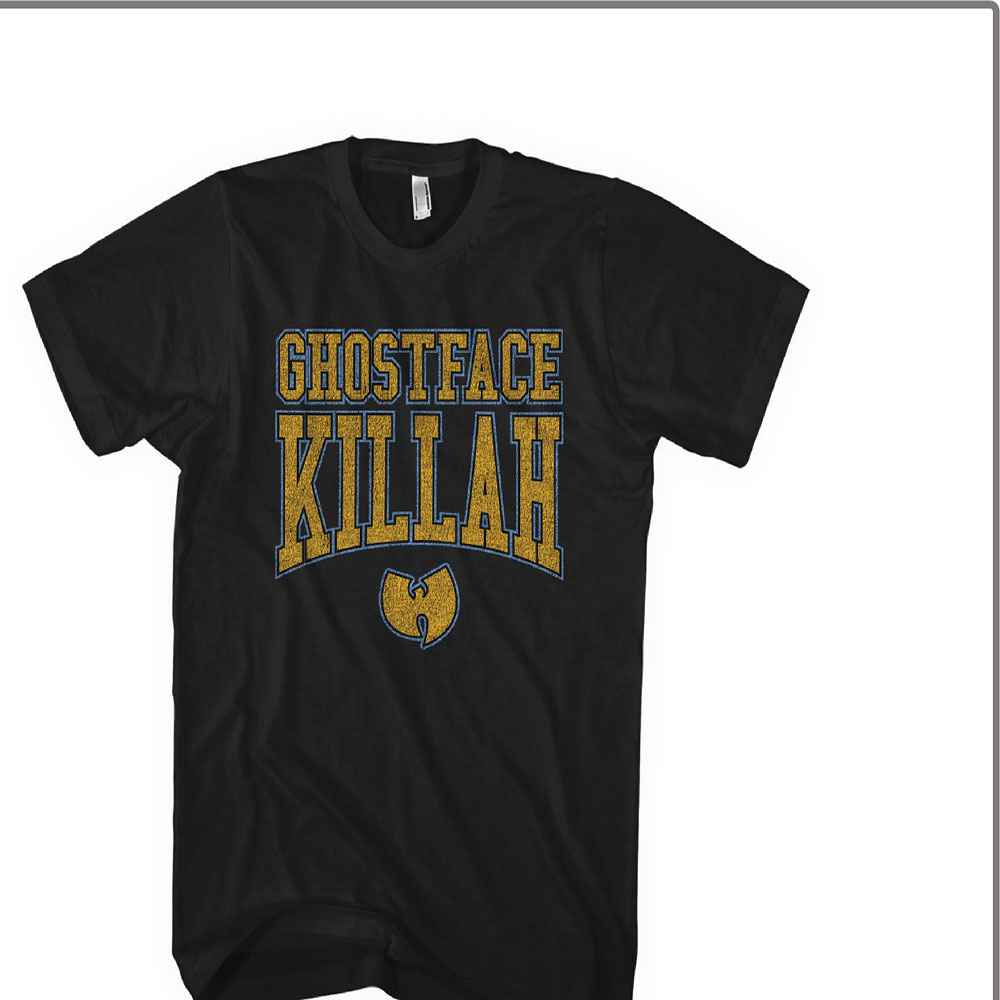 Ghostface Killah - Gold Logo (Black)