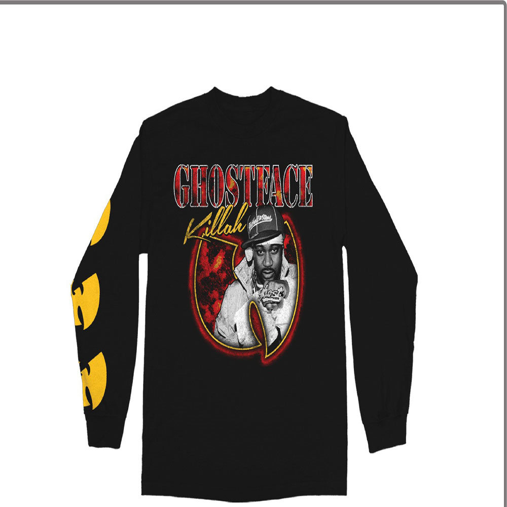 Ghostface Killah - Photo Bat Logo (Black)