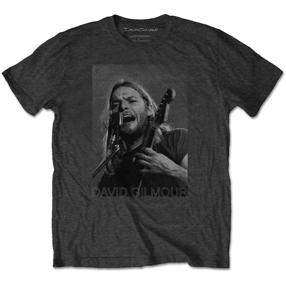 David Gilmour - On Microphone Half-Tone (Grey)