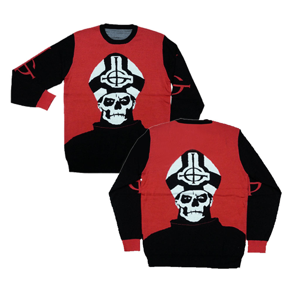 Ghost - Papa Emeritus II Conclave Sweater