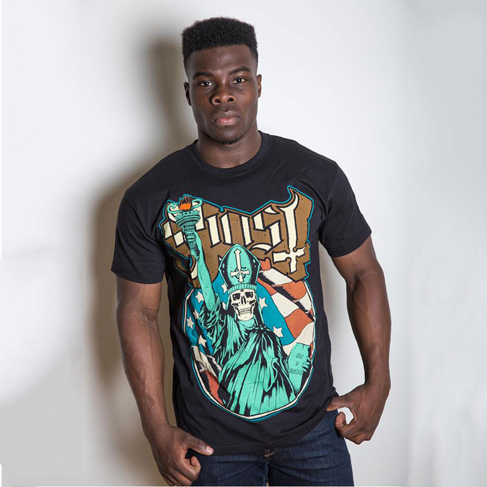 Ghost - Statue Of Liberty (Black)