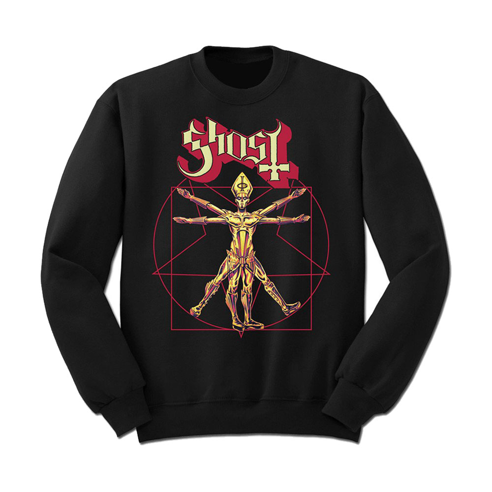 Ghost - Red Pope Star Man (Sweatshirt)