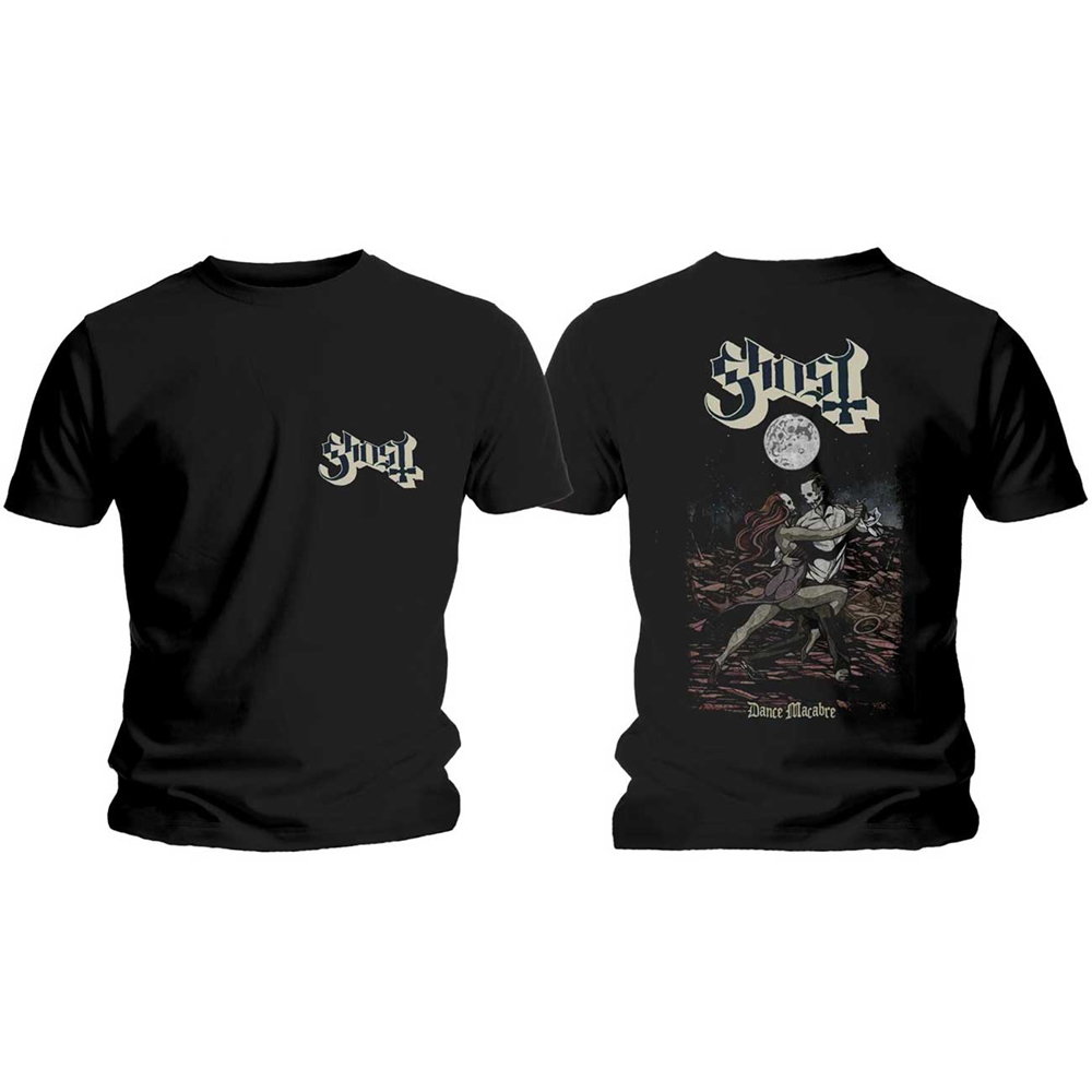 Ghost - Dance Macabre Cover & Logo (Back Print)