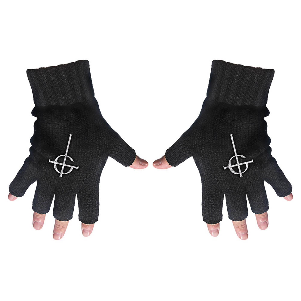 Ghost - Ghost Cross (Fingerless Gloves)