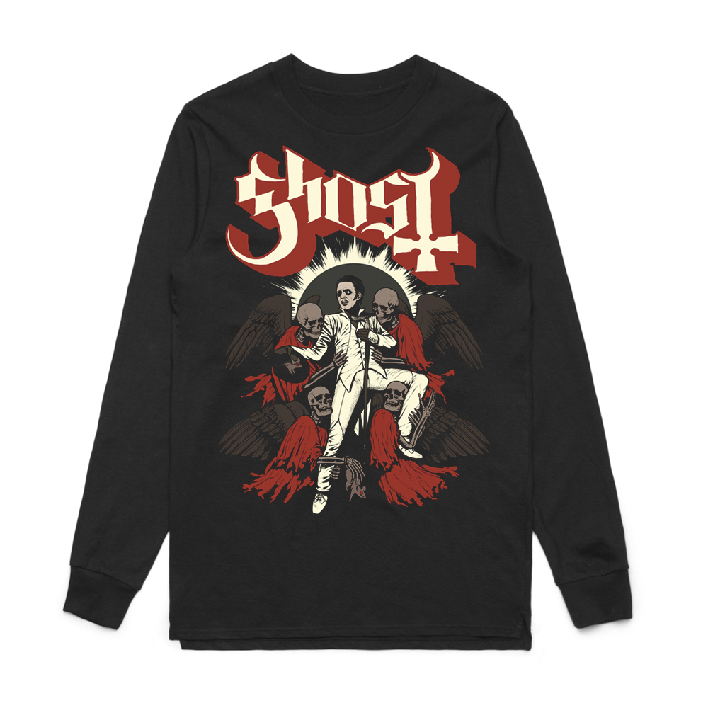Ghost - Adoration (Long Sleeved T-Shirt)