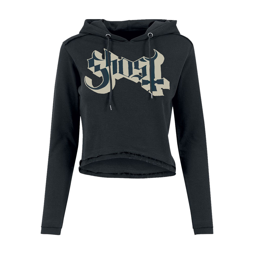 Ghost - Dance Macabre (Womens Cropped Hoodie)