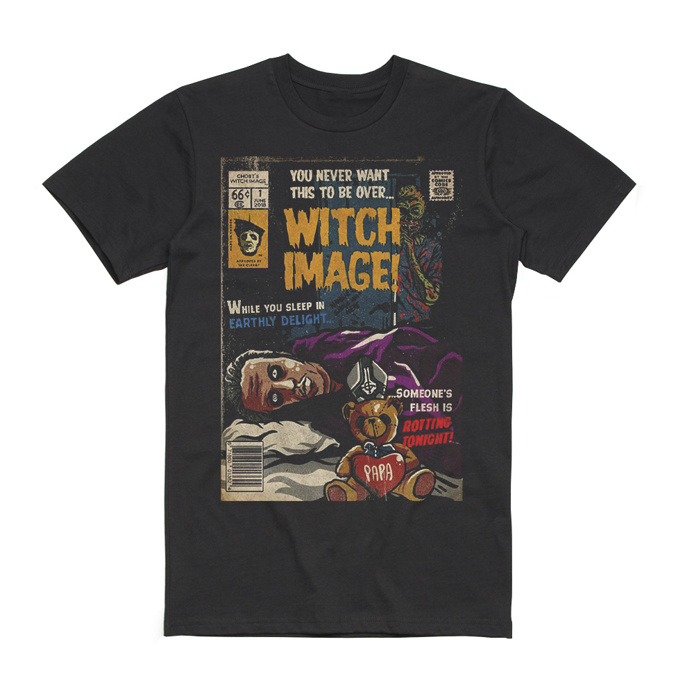 Ghost - Witch Image Comic Book