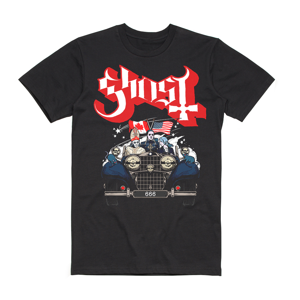 Ghost - Classic Cars Tee