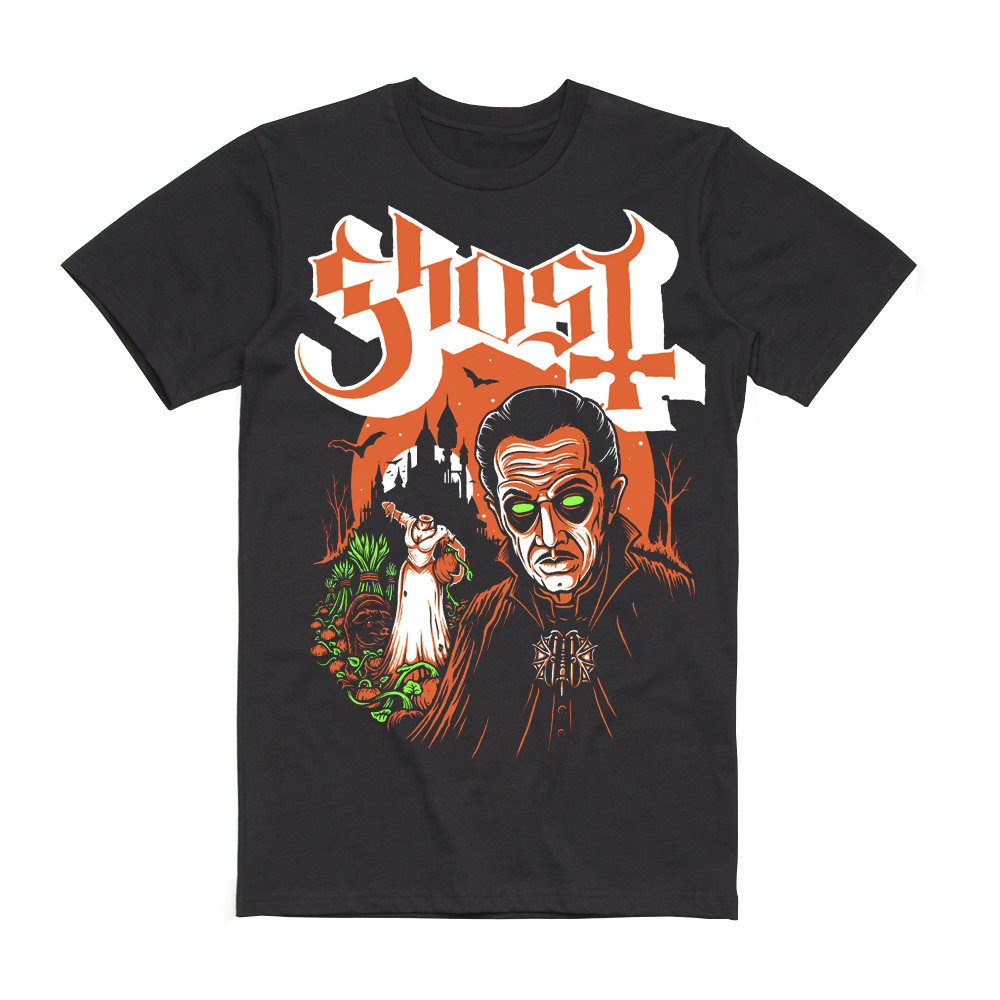 Ghost - Lady Gwyn Halloween T-Shirt