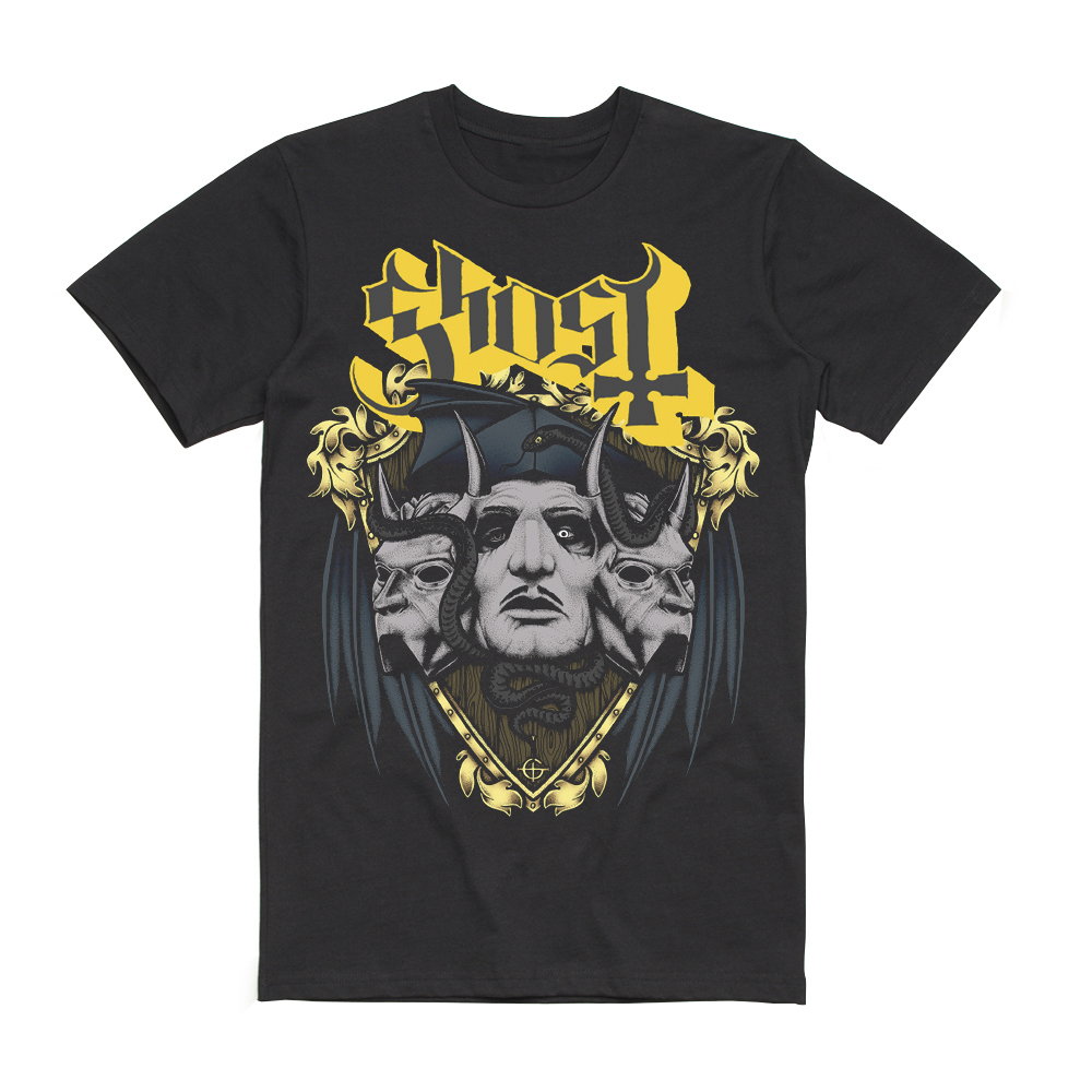 Ghost - Unholy Crest T-Shirt