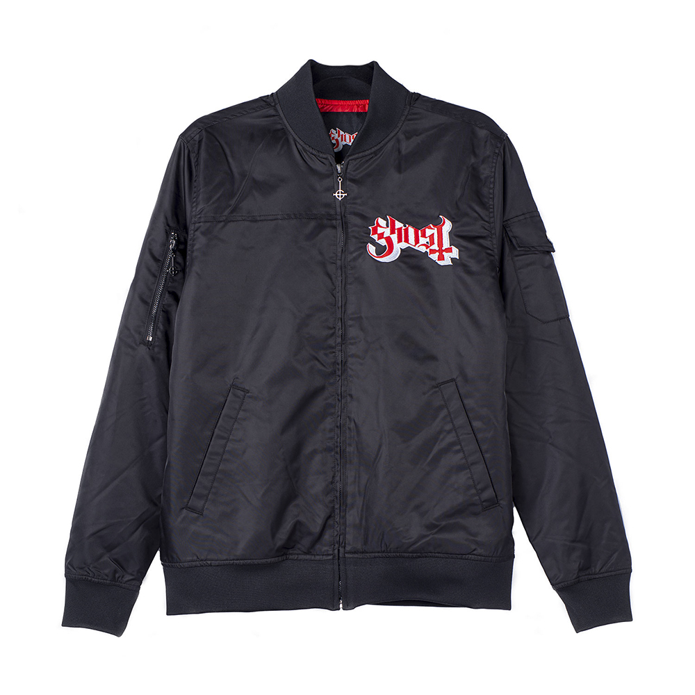 Ghost - Popestar Grucifix Bomber Jacket