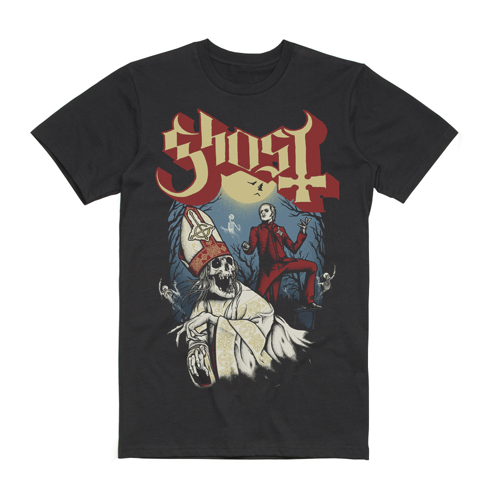 Ghost - Graveyard T-Shirt