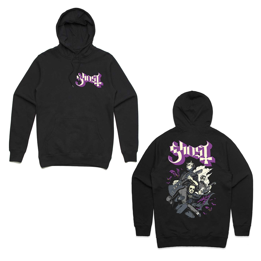 Ghost - Bats and Band Hoodie