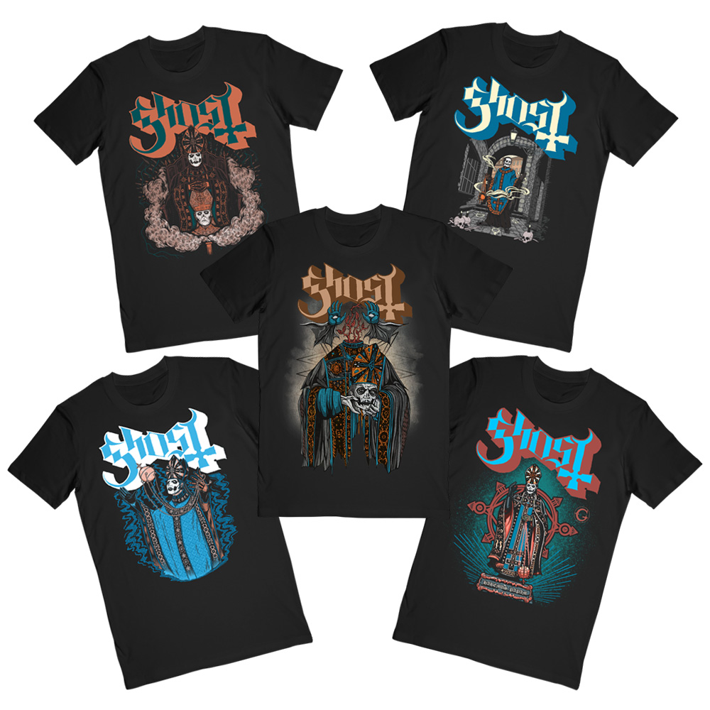 Ghost - Papa IV Tee Bundle