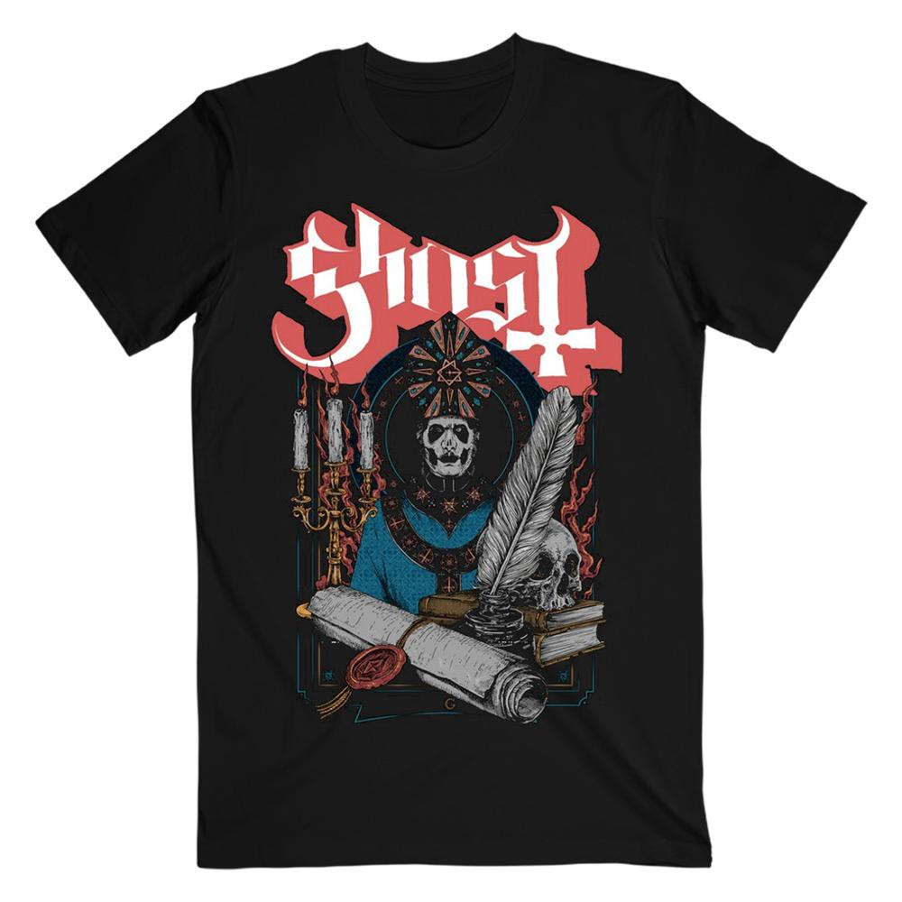 Ghost - Scroll Seal tee
