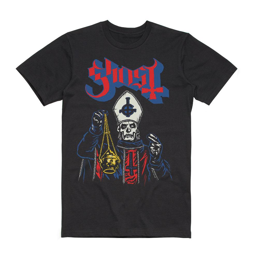 Ghost - Papa Emeritus I Retro Tee