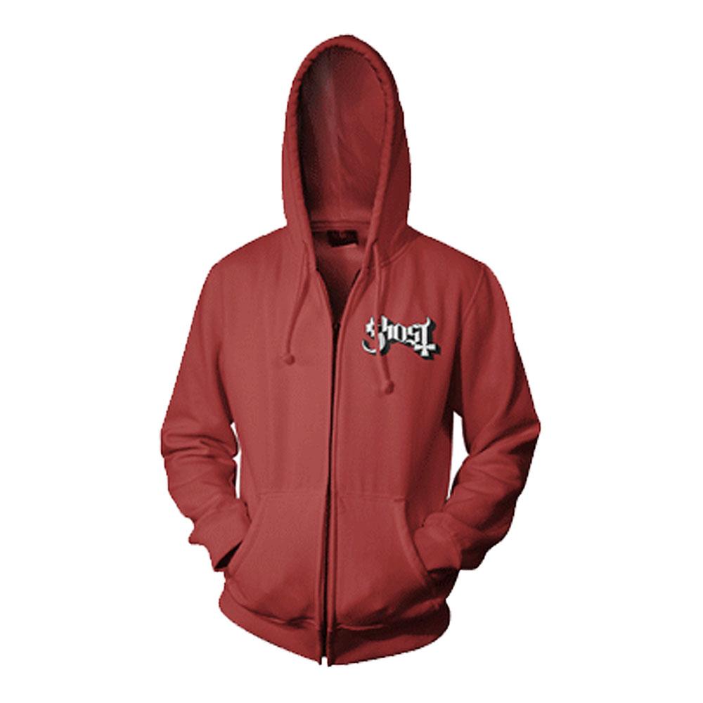 Red hoodies