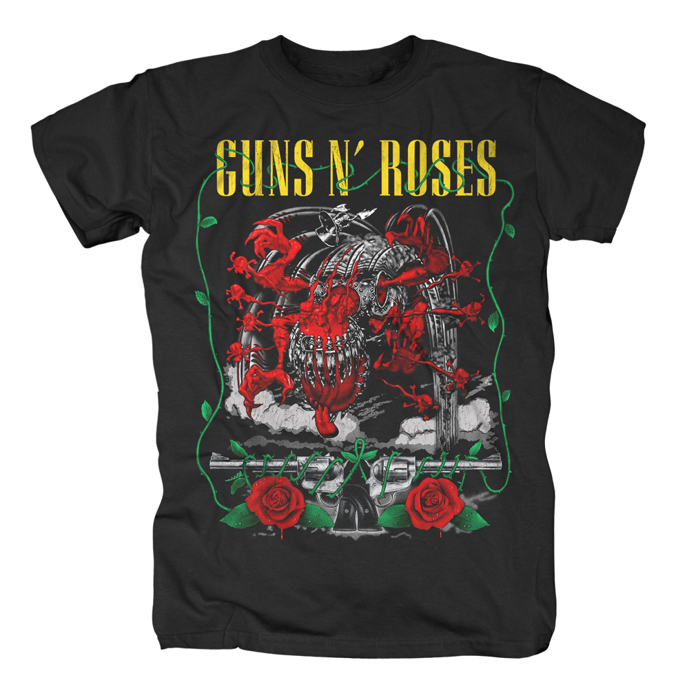 Guns N Roses - Appetite Creature and Pistols (Black)