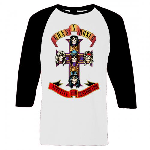 Guns N Roses - Appetite For Destruction (Raglan)