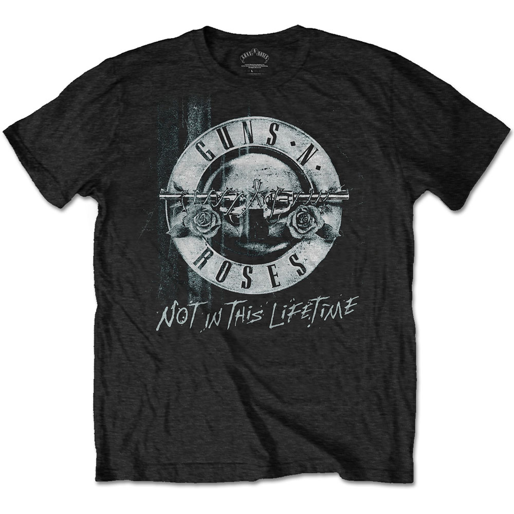 Guns N Roses - Not In This Lifetime Tour Xerox (Black)
