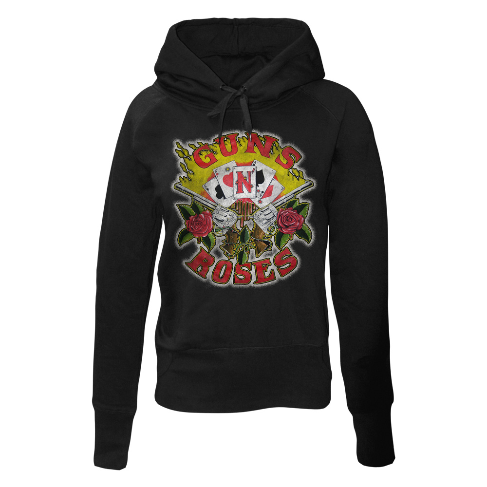 Guns N Roses - Cards (Women's) (Black)