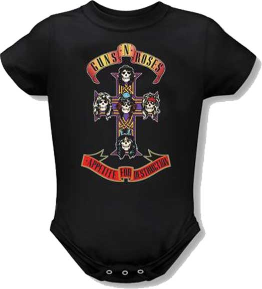 Guns N Roses - AFD Cross (Black)