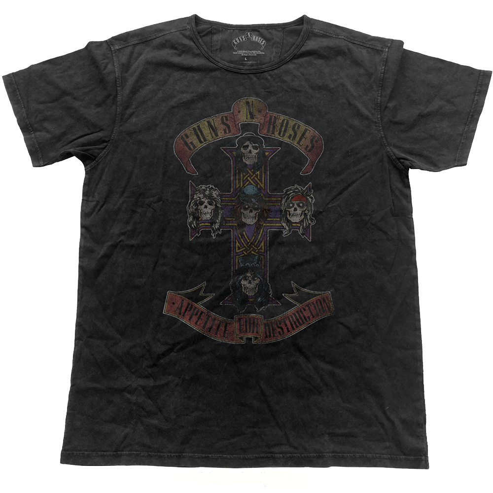 Guns N Roses - Appetite Cross Vintage (Charcoal)